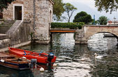 Moat of Rocca — Stock Photo