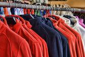 Polar fleece jackets — Stock Photo