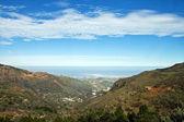Malebné údolí — Stock fotografie