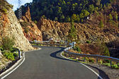 Winding mountain road — Stock Photo