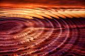 Sunset ripples — Stock Photo