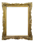 Carved frame — Stock Photo
