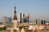 Old town of Tallinn, Estonia — Stock Photo