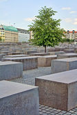 Holocaust memorial in Berlin, Germany — Stock Photo