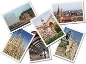 Milan Postcards — Stock Photo