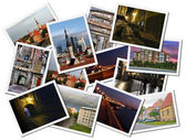 Tallinn postcards — Stock Photo