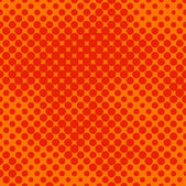Orange halftone — Stock Vector