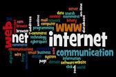 Internet words — Stock Vector