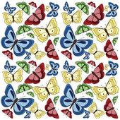 Butterflies background — Stock Photo