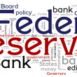 Stock Vector: Federal Reserve Bank Concptual Words