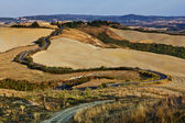Tuscan Sinuous Roads — Stock Photo