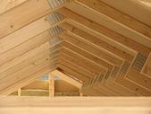 屋顶框架 — 图库照片
