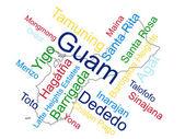 Guam — Stock Vector