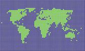 Kwadrat mapa — Wektor stockowy