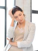Unhappy woman — Stock Photo