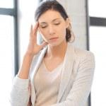 Unhappy woman — Stock Photo #10423352