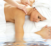 Massage — Foto Stock