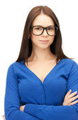 Calm and friendly woman — Stock Photo