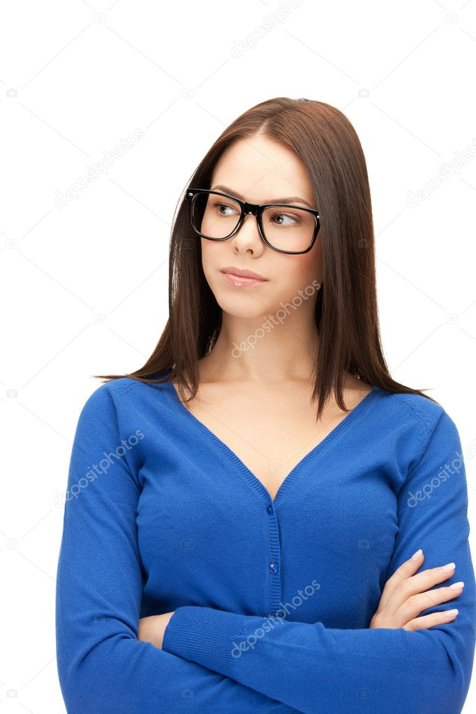 Bright picture of calm and friendly woman — Stock Photo #8256595