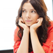 Calm and serious woman — Stock Photo #9134013