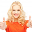 Thumbs up — Stock Photo #9168551