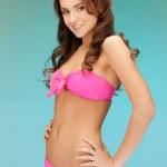 Beautiful woman in bikini — Stock Photo