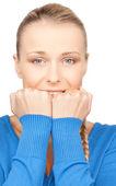 Nešťastná žena — Stock fotografie