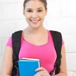 Happy and smiling teenage girl — Stock Photo #9481670
