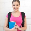 Happy and smiling teenage girl — Stock Photo #9568969