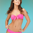 Beautiful woman in bikini — Stock Photo #9569582