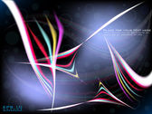 Vector Abstract Background Set — Stock Vector