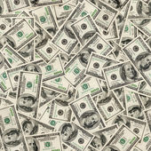 Dollars seamless background. — Foto de Stock