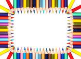 Красочный карандаши кадр — Стоковое фото