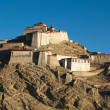 Gyantse fort — Foto Stock