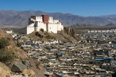 Shigatse fort — Stock Photo