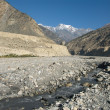 Kali Gandaki valley - Stock Photo