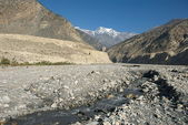 Kali Gandaki valley — Stock Photo