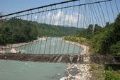 Suspension bridge — Stock fotografie