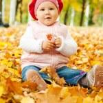 Осенние детские — Стоковое фото