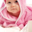 Baby in pink — Stock Photo #8630876