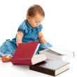 Kid reading — Stock Photo