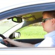 Stock Photo: Mdriving car