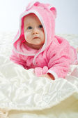 Astonished baby — Stock Photo