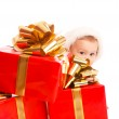 Christmas baby — Stock Photo #8649739
