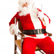 Stock Photo: Santa in chair