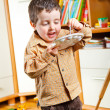 Royalty-Free Stock Photo: Kid painting