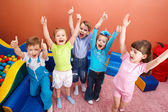 Shouting kids — Stock Photo