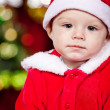 Baby Santa - Stock Photo