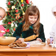 Christmas kids — Stock Photo