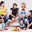 Women and their children — Stock Photo #8687921